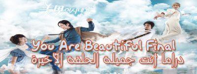 أنت جميلة الحلقة الأخيرة Series You Are Beautiful Episode Final