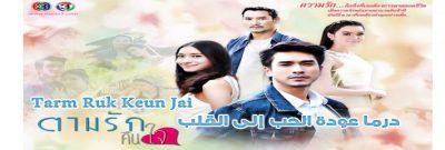 جميع حلقات مسلسل عودة الحب إلى القلب Tarm Ruk Keun Jai Episodes مترجم